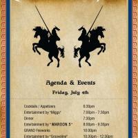 Invite Design for DeBartolo Party