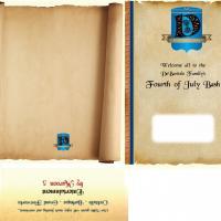 Pocket Folder Design for DeBartolo Party