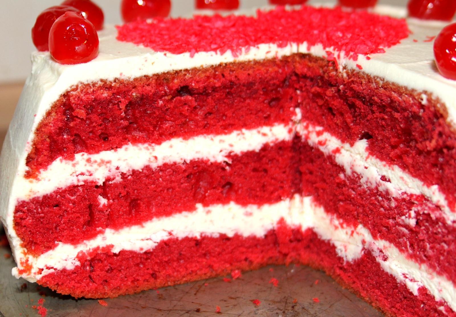 Красный бархат торт рецепт с фото в мультиварке