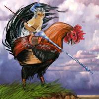 Chicken knight