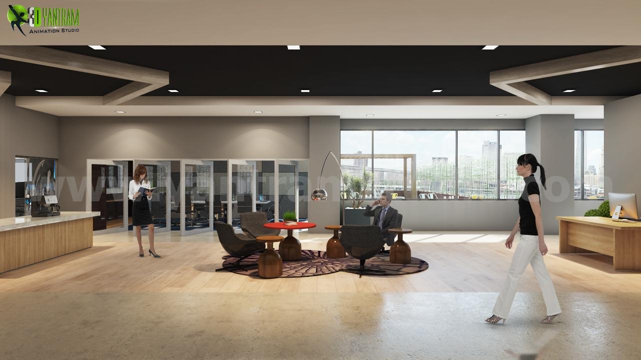 Yantram Studio | 3D Architectural Rendering on modern restaurant interior design, modern wood interior ceiling design, modern house roof designs, modern living room interior design, modern house main door designs, modern office interior design wall,